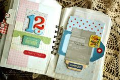 A Delightful Waste of Time: Scrapbook Sunday - Baby Book...16