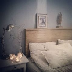 #soverom#nyoppusset#drivved#gustavianskblå#jotunlady#bedroom#diy#sengegavl#trestatue#sofiasvilla#drøbak#ikea#nille#Princess#sengetøy#ourhome#myhome#sætre#kvist#syrin#syringavulgaris#goodnight#sunday#november#sove