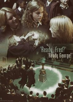 Love me some Fred and George (: