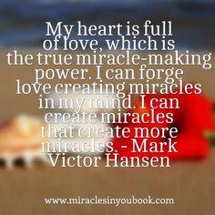 #love #miracles #gratitude #quote