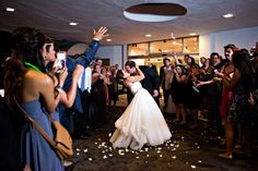 Flower petal departure. M. Elizabeth Events