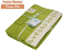 Женский набор в сауну Petek La Bella Bamboo светло-зеленый. Купить в Украине (Постель Маркет, Киев)
