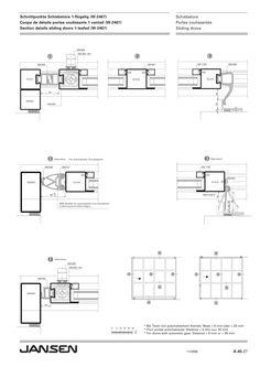 folding-and-sliding-doors | Shop Drawing | Pinterest | Sliding door ...
