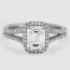 Platinum Fortuna Diamond Ring