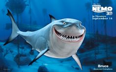 """Bruce from """"Finding Nemo"""""""