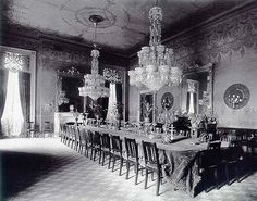 Grover Clevelands State Dining Room 1890