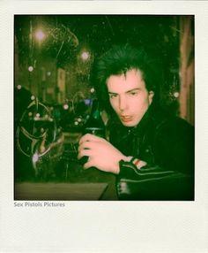 Sid Vicious polaroid