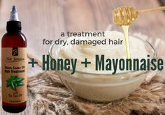 Mayonnaise & Honey with JBCO: A Treatment for Dry, Damaged Hair Dry hair occurs when there is not en Hair Mask For Damaged Hair, Damaged Hair Repair, Dry Hair, Hair Masks, Diy Hair Treatment, Hair Treatments, Mayonnaise Hair Mask, Dry Brittle Hair, Mayonnaise