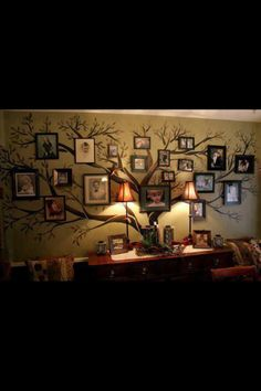 Family tree art - maybe for stairway?