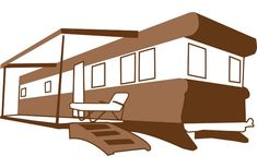 Trailer Camper Rv Recreational - Free vector graphic on Pixabay Free Pictures, Free Images, Modern Mobile Homes, Cliparts Free, Free Trailer, Improve Yourself, Make It Yourself, Rv, Camper