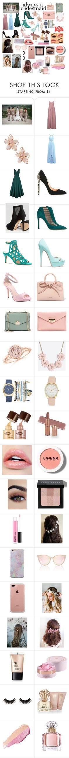 """""""Always A Bridesmaid❤️"""" by fashionista0333 ❤ liked on Polyvore featuring NAKAMOL, Cerasella Milano, ALDO, Chloe Gosselin, Vince Camuto, Casadei, I. MILLER, Mansur Gavriel, Jennifer Lopez and J.Crew"""