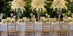 Spectacular Wedding Reception Ideas from J MORGAN FLOWERS - MODwedding