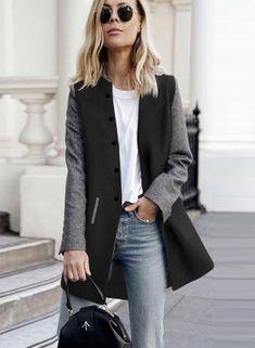 Fubotevic Women Chest Pocket Button Down Fringes Ripped Denim Vest Sleeveless Jean Jacket Coat