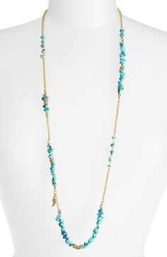 Sequin 'Color Karma' Long Beaded Necklace | Nordstrom