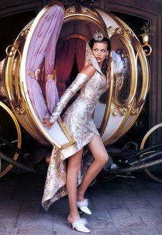 """Au Pays Des Merveilles"", Vogue France, August 1992Photographer: Mario TestinoModel: Nadja Auermann"