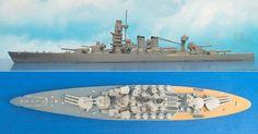 """iltal. Schlachtschiff """"Caio Duilio"""" der Caio Duilio-Klasse (Delphin 77) 1:1250"""