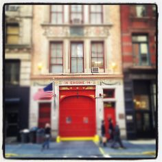 Engine 14 on 18th Street in NYC