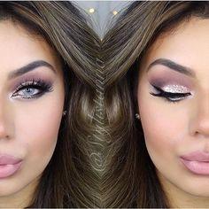 "Dusty pink RepostBy @stylistanna: ""PINKS Makeup: @frankierosecosmetics Olive foundation.// @benefitcosmetics matte Rescue & POREfessional FAVE!, HOOLA bronzer, their real mascara.// blush: @tartecosmetics // glitter on eyes: @eyekandycosmetics double bubble & candy coin mixed // lashes: @kokolashes // lips: @lipkitbykylie @kyliejenner #candyk & @gerardcosmetics angel cake✨// brushes @makeupaddictioncosmetics // brows: @anastasiabeverlyhills #browdefiner  NEW FAVE!!!!!!✨✨✨// li..."