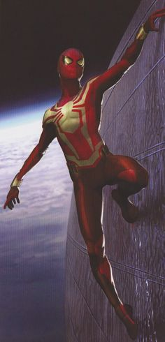 Avengers: Infinity War concept art shows off an alternate black design for the Spider-Man's Iron Spider suit in the Marvel epic. Marvel Comics, Marvel Comic Universe, Marvel Art, Marvel Heroes, Marvel Cinematic Universe, Amazing Spiderman, Spiderman Movie, Spiderman Suits, Spiderman Marvel