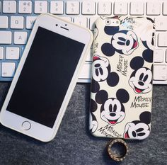 Cute Cartoon Mickey Mouse Soft Case For Apple iPhone 6 4.7 6plus 5.5inch Tpu Back Cover Free Shipping