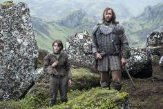 Maisie Williams Arya Stark Game of Thrones  Rory McCann  The Hound