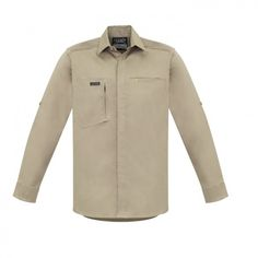 Syzmik ZW350 Mens Streetworx L/Sleeve Stretch Shirt - Syzmik - Brands | Cheap Work Boots