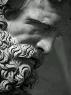 poseidon sculpture Zeus - Father of Gods and Men, - sculpture Roman Sculpture, Art Sculpture, Abstract Sculpture, Bronze Sculpture, Sculpture Projects, Sculpture Ideas, Michelangelo Sculpture, Metal Sculptures, Persephone
