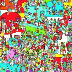 Where's Wally maps framed and left in every room for some entertainment