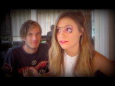 Pewdiepie does makeup for Cutiepie