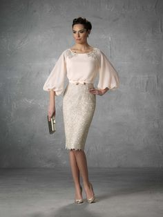 Vestido de Madrina de Raffaello (Jaina), medio