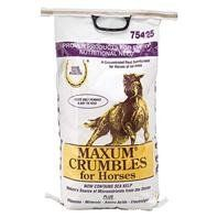 MAXUM CRUMBLE, Size: 25 POUND (Catalog Category: Equine Supplements:SUPPLEMENTS) by FARNAM CO HORSE HEALTH. $69.65. Feed supplement for today s equine athlete. Delivers concentrated vitamins, minerals and electrolytes. Provides a wide range of beneficial nutrients. One to two ounces per day helps keep your horse performing at his peak.(Size: 25 POUND)