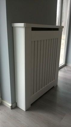 Pin by Fatboy Grande on radiator cover Bathroom Radiators, Loft Storage, Radiator Cover, Small Rooms, Bathroom Storage, Cladding, Decoration, Interior Design, Outdoor Decor