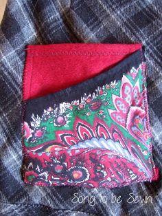 sew double skirt pocket
