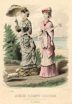 La Moda Elegante Illustrada 1881