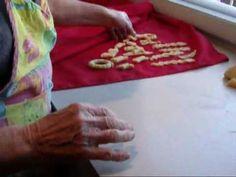 ▶ Italian Christmas Baking - Scalilli - YouTube Just like my Grandma's!