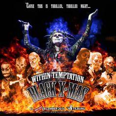 Within Temptation Black x-mas 2016