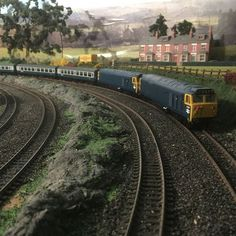 A brace of Class Hoovers, Model Railroader, Heritage Railway, Rail Transport, Train Table, Map Pictures, Model Train Layouts, Diesel Locomotive, Rc Model