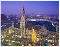 Munich, Germany- especially during Oktoberfest. done.