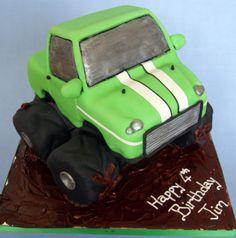 Monster Truck Cake Tutorial – Wokingham Cakes
