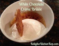 White Chocolate Crème Brûlée – Recipe