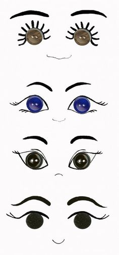 Most recent Photo amigurumi doll eyes Suggestions 54 Trendy Ideas Crochet Amigurumi Doll Faces Crochet Amigurumi, Amigurumi Doll, Crochet Dolls, Crochet Faces, Button Art, Button Crafts, Doll Eyes, Doll Face, Doll Crafts