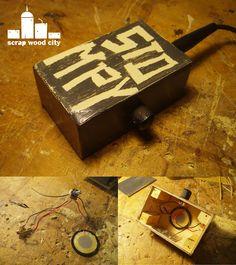 scrap wood city: DIY stomp box blues