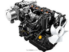 Tier4規制適合エンジン テクノロジー ヤンマー