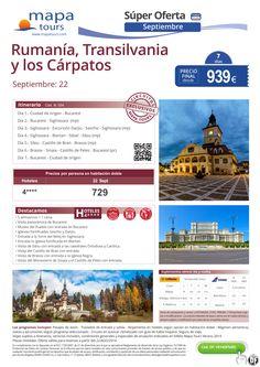 Rumanía, Transilvania y los Cárpatos salidas Septiembre **Precio Final desde 939** ultimo minuto - http://zocotours.com/rumania-transilvania-y-los-carpatos-salidas-septiembre-precio-final-desde-939-ultimo-minuto/