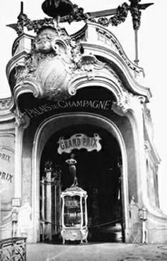 Grand Marques de Champagne House - universal exposition of 1900, Paris