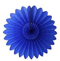 "6-pack 18"" Tissue Paper Fanburst (Dark Blue) Devra Party http://www.amazon.com/dp/B00U54GHJE/ref=cm_sw_r_pi_dp_n9Vrxb1WK732H"