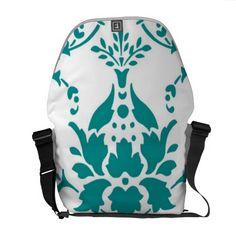 Gorgeous Damask Commuter Bag