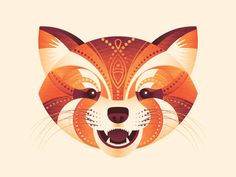 Designosaur | Red Panda
