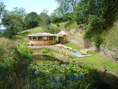 Wood Yurt - Big Sky Retreat Devon. Note to self..this place is up for holiday rents.