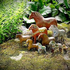 pinkpagodastudio: Dala Horse of Swedish